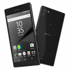 "Sony Xperia Z5 Compact E5823 Black 4.6"" 32GB 2GB RAM 23MP Phone By FedEx"