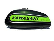 KAWASAKI PAINT 1974 H2 B 750 TRIPLE KAWASAKI CANDY GREEN RESTORATION PAINT