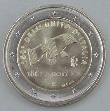 """2 EURO ITALIA 2011"""" 150 anni Associazione """"unz"""