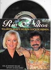 RIA VALK & NIKOS IGNATIADIS - Waarom blijft de zon toch schijnen? CDS 2TR 1993