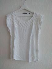 Blusenshirt Zero 42 M Bluse Top Blusentop Shirt Oberteil T-Shirt weiß