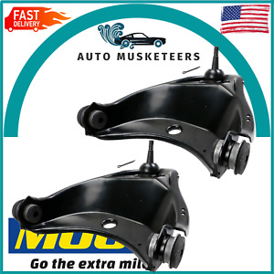 For Chevrolet C1500 Suburban C2500 Set Of 2 Front Upper Control Arms Pair Moog