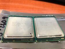 Matched Pair SR0LA Xeon E5-2609 Quad-Core CPU's 2.4GHz 10MB Grade A