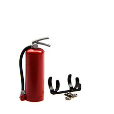 Fire Extinguisher Decorative Accessory For RC4WD AXIAL SCX10 1/10 RC Crawler Red