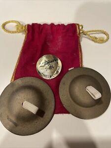 Zildjian Thin Finger Cymbals With Bag