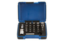 TORX STAR PLUS 5 & 6 SIDED SET BIT SOCKET SET WITH HOLES T10 - T60