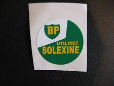 SOLEX   AUTOCOLLANT  petit  BP solexine 4,5 cm