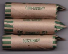 1993 Circulated Roll of 50 Canadian 10c Coins - 1 roll