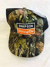 Brand New Realtree Camp Simpson Strong Tie Q Tech Performance Hat Cap W Tags