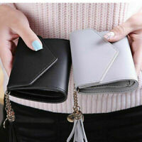 Coin Money Purse Women's Holder Short Small Wallet Ladies Leather Folding Card