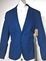 Guess men's jacket blazer size xl color slim fit new