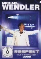 """MICHAEL WENDLER """"RESPEKT LIVE 2009"""" DVD NEU"""