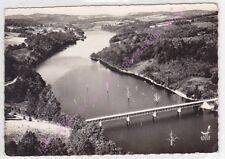 CPSM 23430 CHATELUS LE MARCHEIX Vue aérienne Pont de Judet sur le Thaurion LAPIE