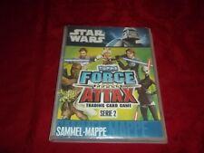 Topps Star Wars Force Attax Serie 2 Sammelmappe+ Karten 1- 240 vollständig+ LE1