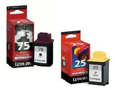 ORIGINAL LEXMARK tinta Z42 Z43 Z44 Z51 Z52 Z53 Z54 x70-x125 X4250/75 + 25 XXL
