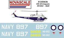 RAN UH-1B Huey Mini-Set Decals 1/35 Scale N35063b