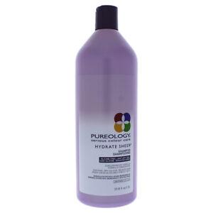 Hydrate Sheer Shampoo by Pureology for Unisex - 33.8 oz Shampoo