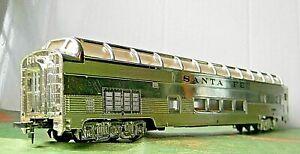 Bachmann Budd 85' Vista-Dome Observation Coach ~ SANTA FE ~ Rd# 507 - HO