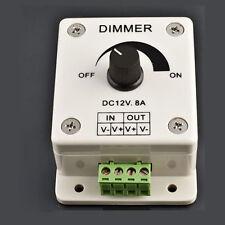 12V PIR Sensor LED Strip Light Switch Dimmer Brightness Adjustable Controller