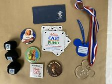 Lot of Disney Collectibles Cast Member Exclusives Pins Medal Badges Button