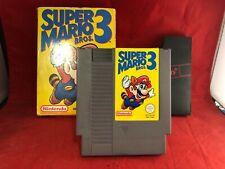 Super Mario Bros 3 Nintendo NES Complete - Boxed + Manual