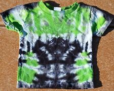 Tie Dye 18 month T-Shirt Green Hug Multi-Color Toddler Kid Youth Rabbit Skin