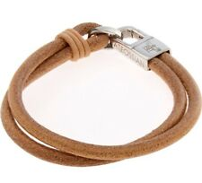 TATEOSSIAN  Brown Leather Bracelet Size S-16cm