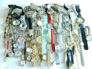50+ Watch Watches Lot #2  Geneva Timex Gruen Coca Cola Disney Armitron