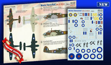 Print Scale 72-328 Decal for Bristol Beaufort Mk-Il-IX Part 2 Model Decals 1/72