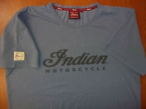 Indian Motorcycle Since 1901 Authentic Pure Cotton T-Shirt L