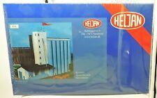 Heljan #806 HO Scale Grain Elevator Kit 36 x 16 x 31  cm  New Old Stock UD-GB