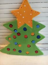 Coton Colors Retired Christmas Tree Large Cookie Jar Attachment Mint