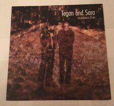 Tegan and Sara Autographed Signed The Business Of Art LP Album Vinyl