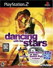 NEW SEALED Activision PLAYSTATION 2 * Dancing With The Stars Game & Dance Mat