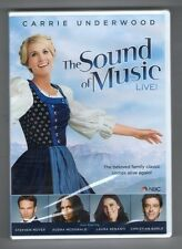 THE SOUND OF MUSIC new dvd CARRIE UNDERWOOD STEPHEN MOYER LAURA BENANTI