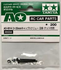 Tamiya 49350/9805669 2x25mm Cap Screw (with Nut/2 Pcs) (DB01) NIP