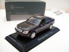 "Mercedes-Benz S 500 (W220) ""Jubiläum"", Dunkelviolett, 1998, MB-Dealer 1:43, OVP"
