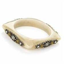 Ivory Coloured Bangle Costume Bracelets