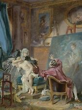 PIERRE ANTOINE BAUDOUIN FRENCH HONEST MODEL OLD ART PAINTING POSTER BB6284A