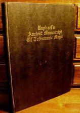 1916 GRIMOIRE TALISMAN MAGIC GRIMOIRE INVOCATION OCCULT