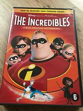THE INCREDIBLES : WALT DISNEY - 2 DISC DVD SET  - LES INDESTRUCTIBLES nieuw neuf
