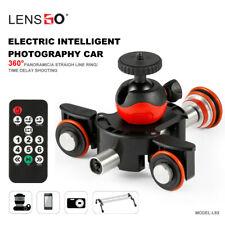 LENSGO Camera Video Track dolly Motorized Electric Slider Motor Truck for Nikon