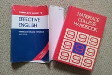 Harbrace College Handbook (Complete Guide to Effective English) 9th ed. 1982