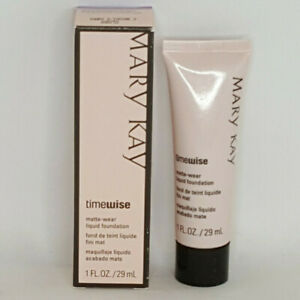 Mary Kay Timewise Matte Wear Liquid Foundation Ivory 3 NOS 038752