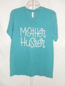 """NWOT Women's Sz. M Bella Canvas Graphic Short Sleeve T-Shirt """"Mother Hustler"""""""