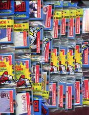 1988 Donruss Baseball Card Set 12 Rack Pack Equals Wax Box