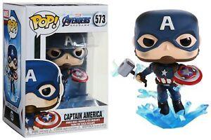 Marvel : Avengers Endgame - Pop! - Captain America Mjolnir n°573 - Funko