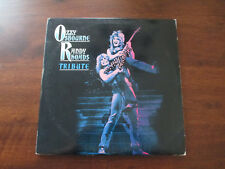 "OZZY OSBOURNE / RANDY RHOADS - TRIBUTE 2 12"" VINYL ALBUM - JAPAN BOOK - GATEFOLD"