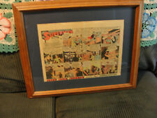 Superman the Sunday Classics newspaper comic strip + 6 more on 1 page