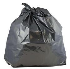 "Neutron Industrial Black Bin Liners Sacks Bags Heavy Duty Strong 18x29x38"" (200)"